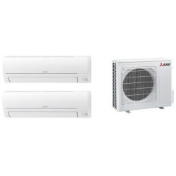 MITSUBISHI ELECTRIC  MXZ-2HA40VF + 2x  MSZ-HR25VF STAFFE IN OMAGGIO!